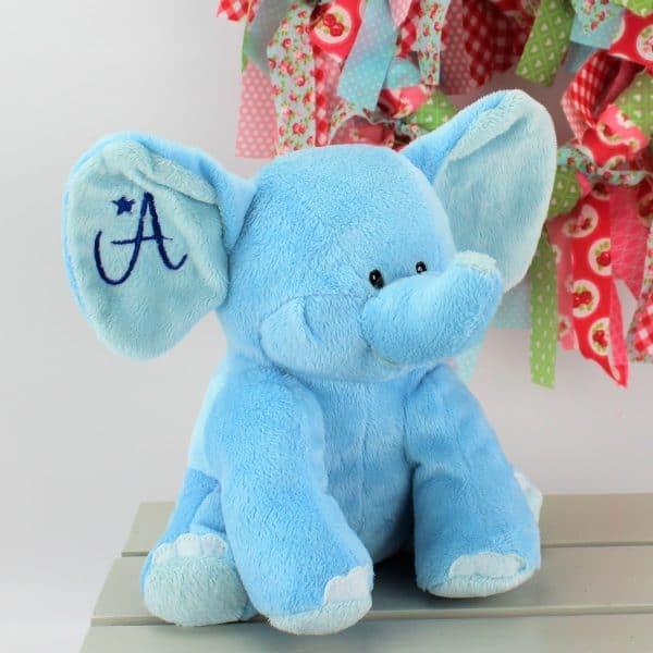 personalised elephant soft toy