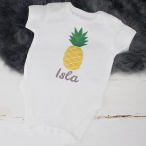 personalised baby summer clothes