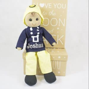 Personalised Rag Doll - Boys