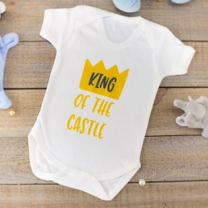 """King of the Castle"" - Baby T-shirt/Bodysuit"