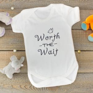 """Worth The Wait"" - T-shirt/Bodysuit"