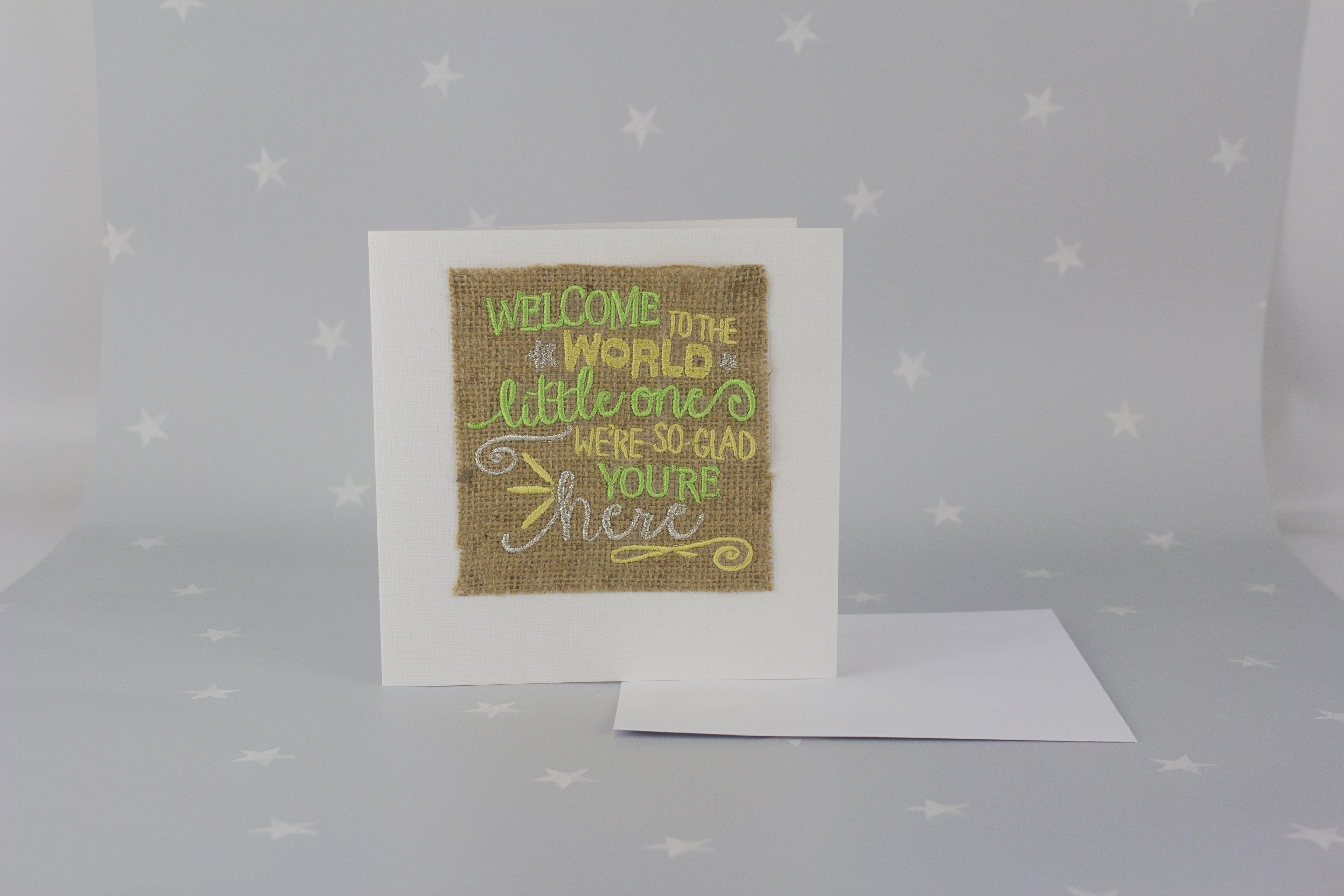 Birthday card - new baby