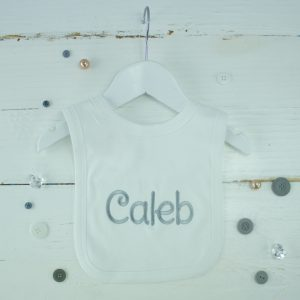 Personalised White Bib