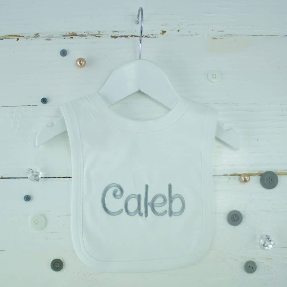 I Have the Best Daddy in the World New Personalised Baby Bib White