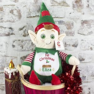 """Personalised Christmas Elf - ""1st Christmas"""