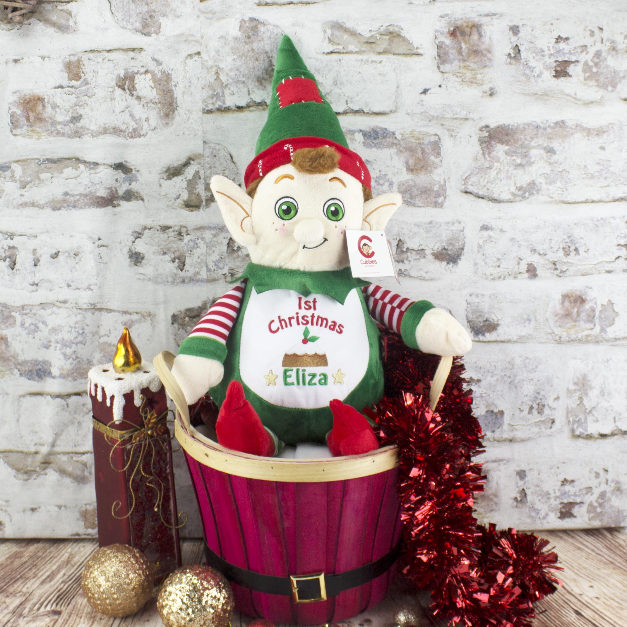 Personalisec Christmas Elf