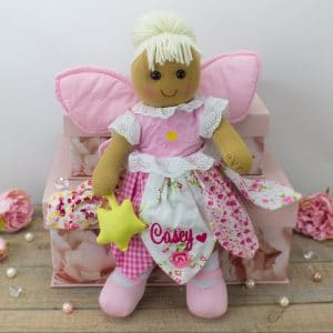'Personalised Fairy Rag Doll'