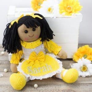 """""""Personalised 'Jasmine' Rag Doll"""""""