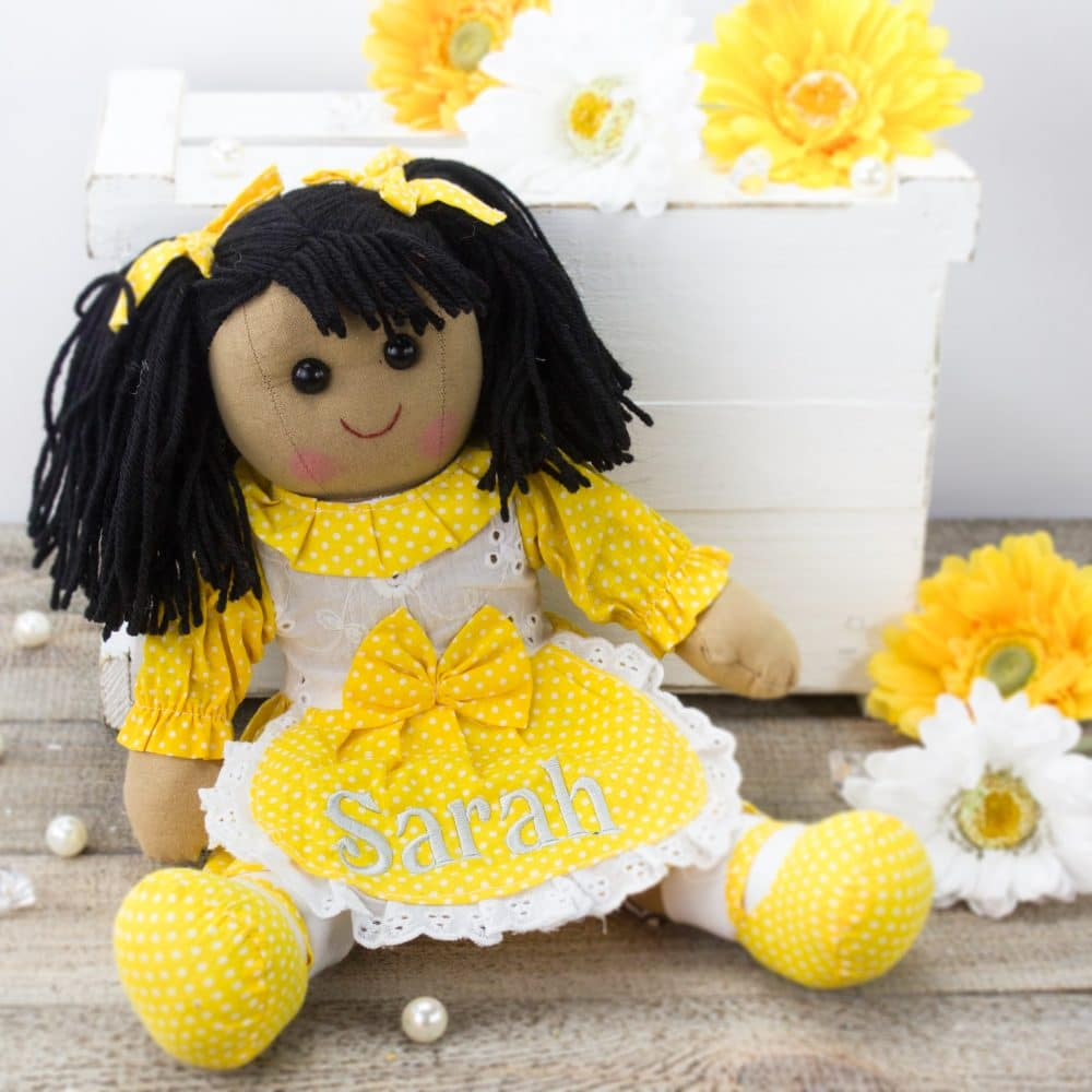 """Personalised 'Jasmine' Rag Doll"""