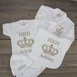personalised royal baby gift - clothes set