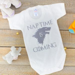 game of thrones baby clothes - nap time is coming