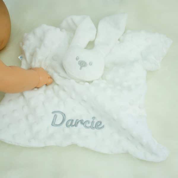 Personalised Unisex Baby Comforter