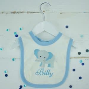 personalised baby boy bib