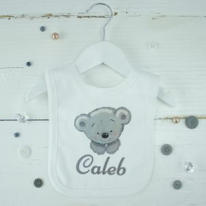 Personalised Baby Teddy Bear Bib