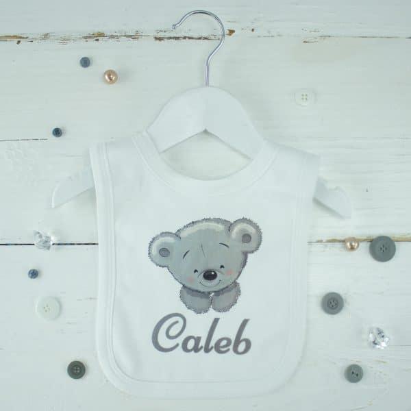 personalised baby bib