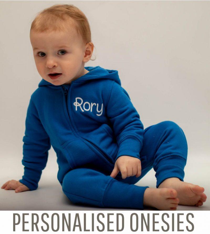 personalised baby onesies