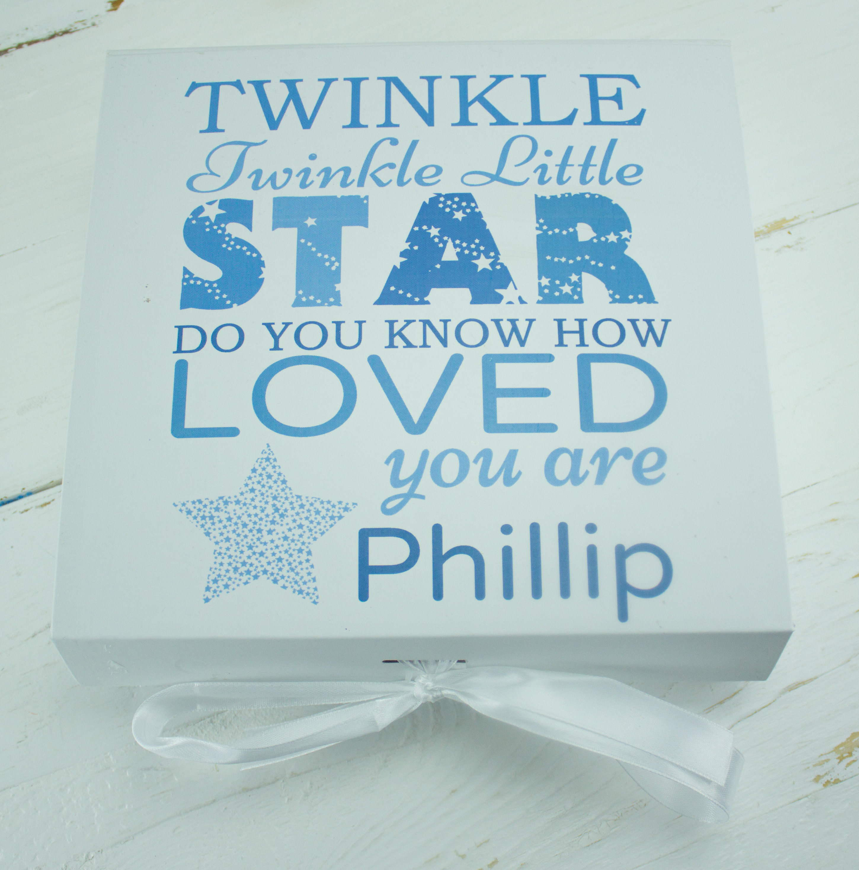 Personalised Baby Boy Clothes Gift Box Set | Heavensent ...