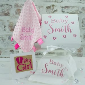 personalised baby shower gifts