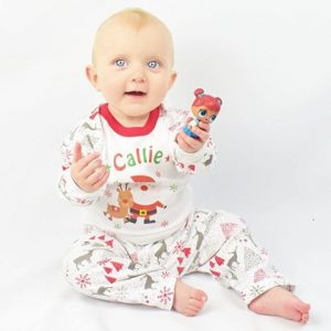 """Personalised Baby & Kids Christmas PJ's"""