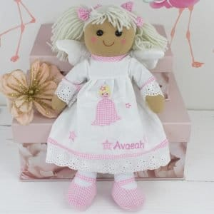 Personalised Baby girl Rag Doll