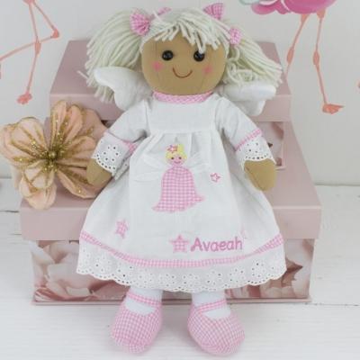 """""""Personalised Angel Rag Doll"""""""