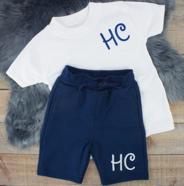 initial baby summer clothes