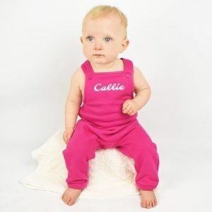 personalised baby dungaree