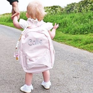 'Personalised Pink Toddler & Kids Backpack'
