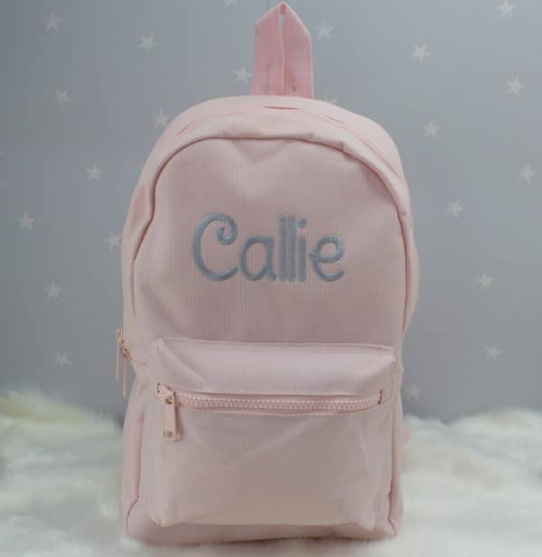 Personalised Pink Toddler Backpack