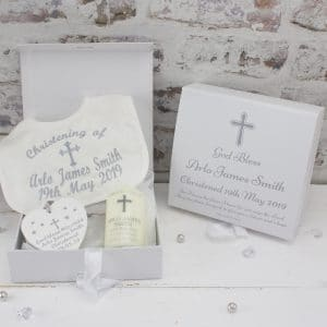 Personalised Premium Christening Gift Set