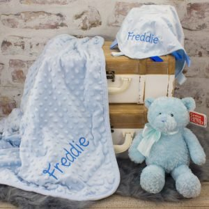Luxury baby boy gift set