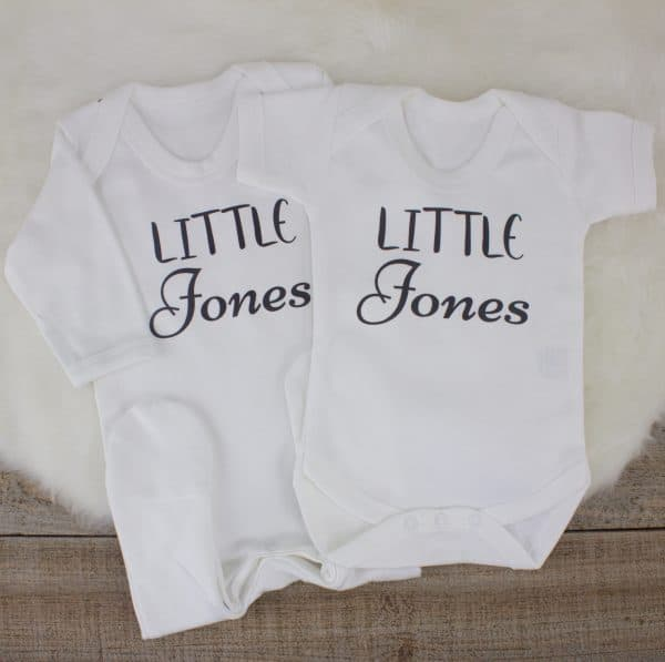 personalised unisex baby shower gift