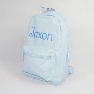 'Personalised Blue Toddler & Kids Backpack'