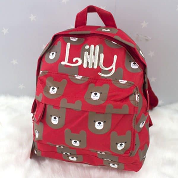 Personalised Nursery backpack