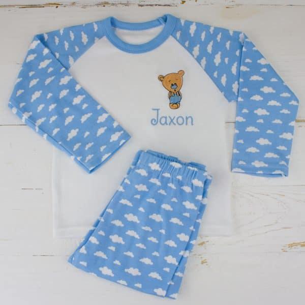 Personalised Baby Boy PJ's
