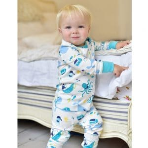 Personalised Baby Boy pjs