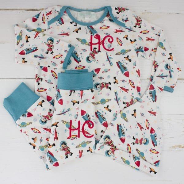 Personalised Baby Boy pyjamas