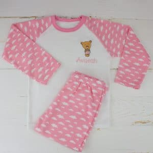 Personalised Baby Girl Pyjamas