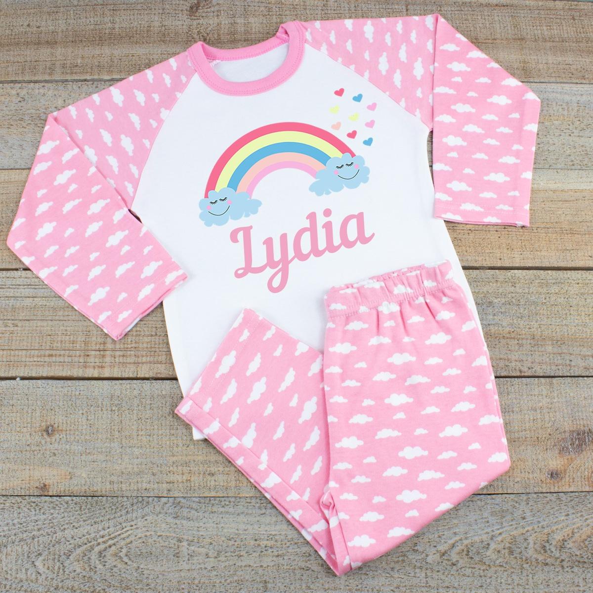 Personalised Baby Girl PJs