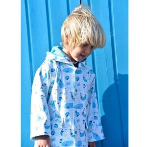 Personalised Baby Boy Rain Coat