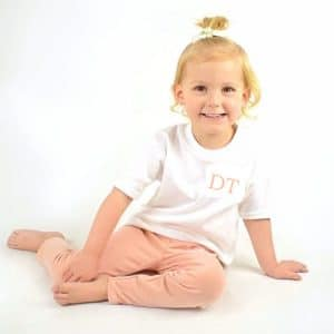Embroidered Baby Loungewear initials