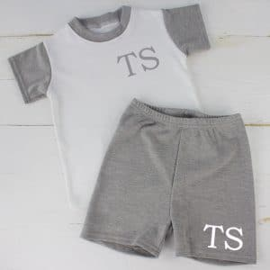 Personalised Unisex Baby Summer Loungewear