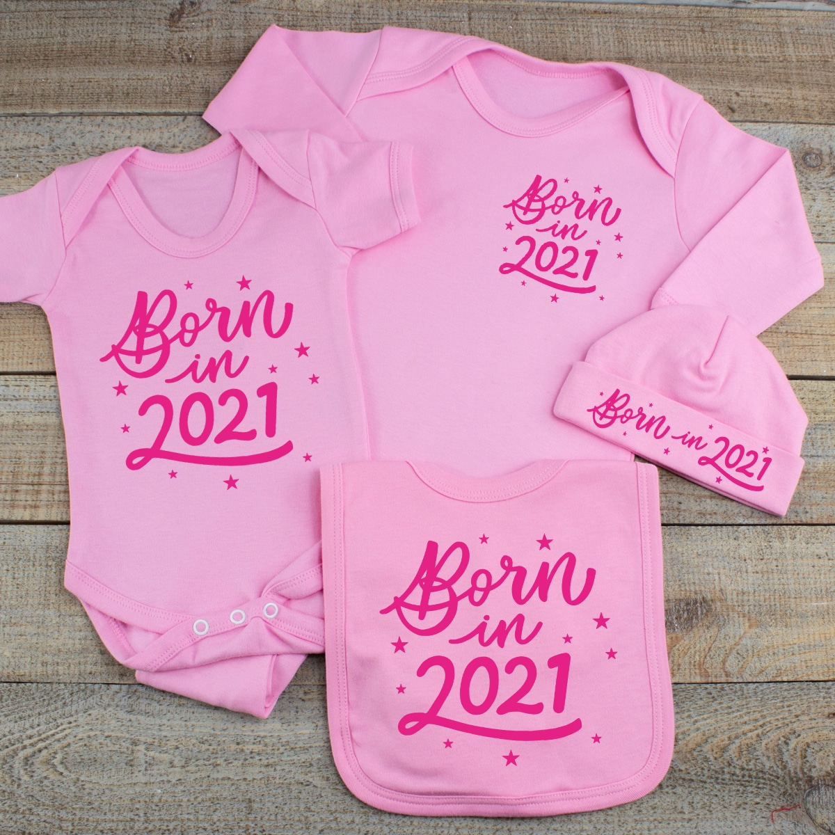 Baby Girl Born in 2021 Clothes Gift Set