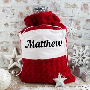 Personalised Red Santa Sack