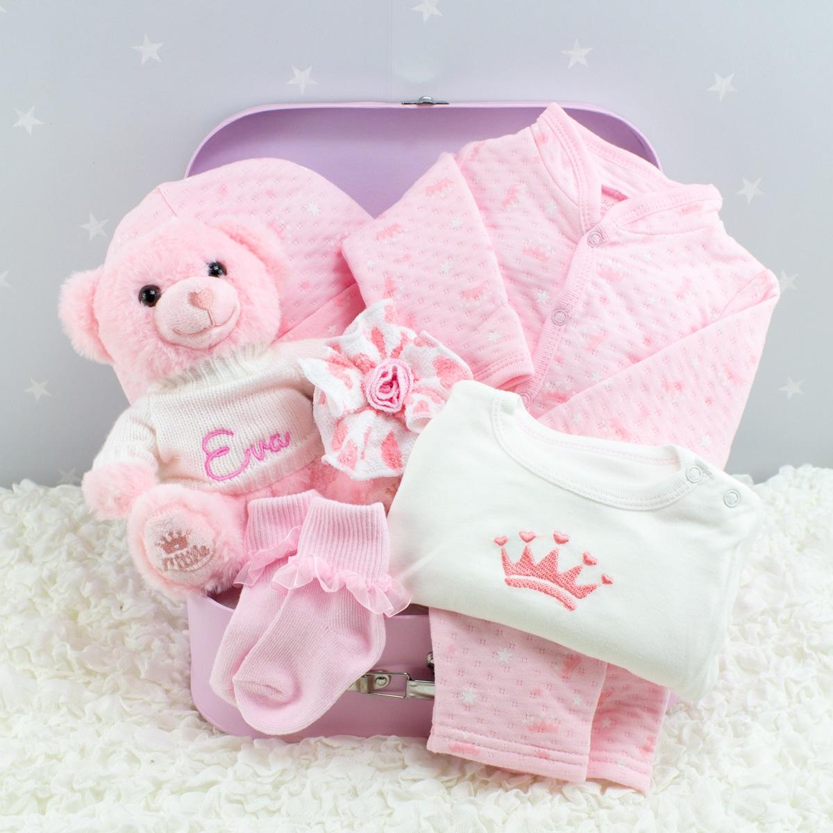 Personalised Pink Princess Gift Set