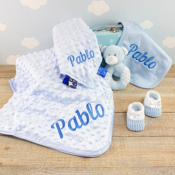 Personalised Baby Boy Starter Gift Box