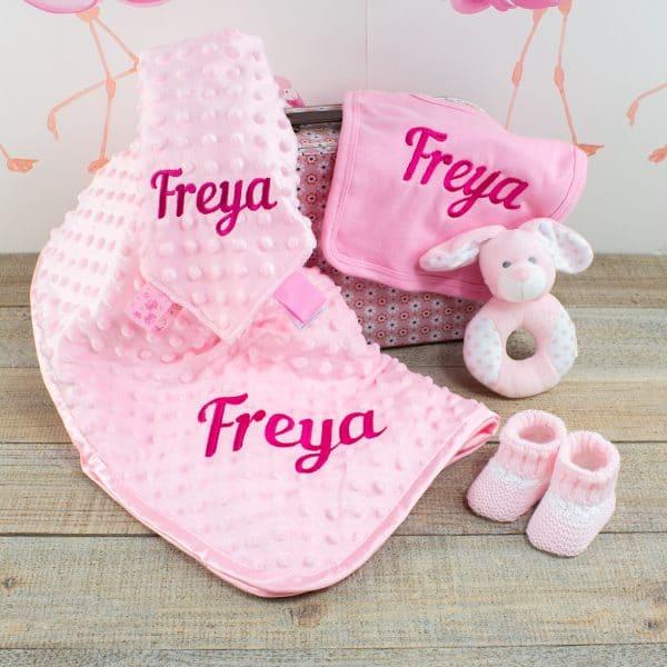 Personalised Baby Girl Gift Box