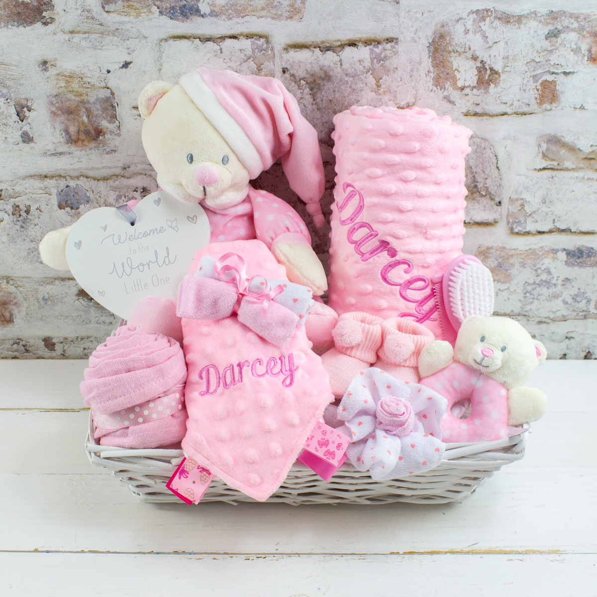 personalised ultimate baby gift hamper