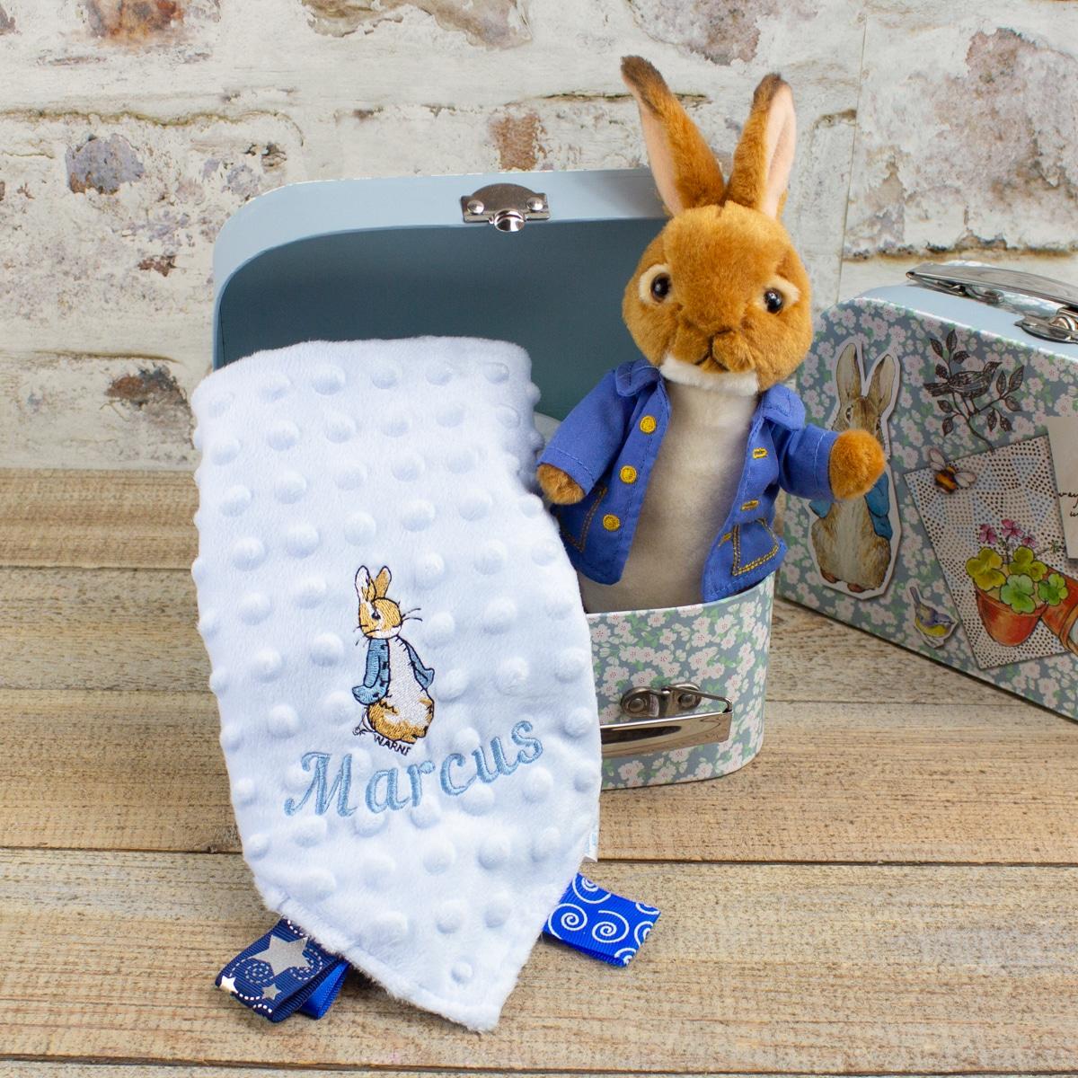 Personalised Peter Rabbit Gift Hamper